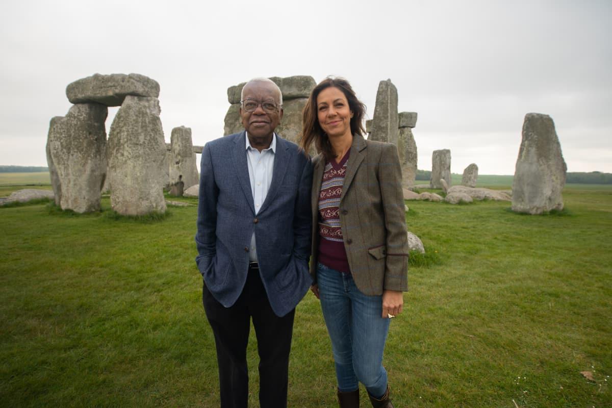 Trevor and Julia at Stonehenge