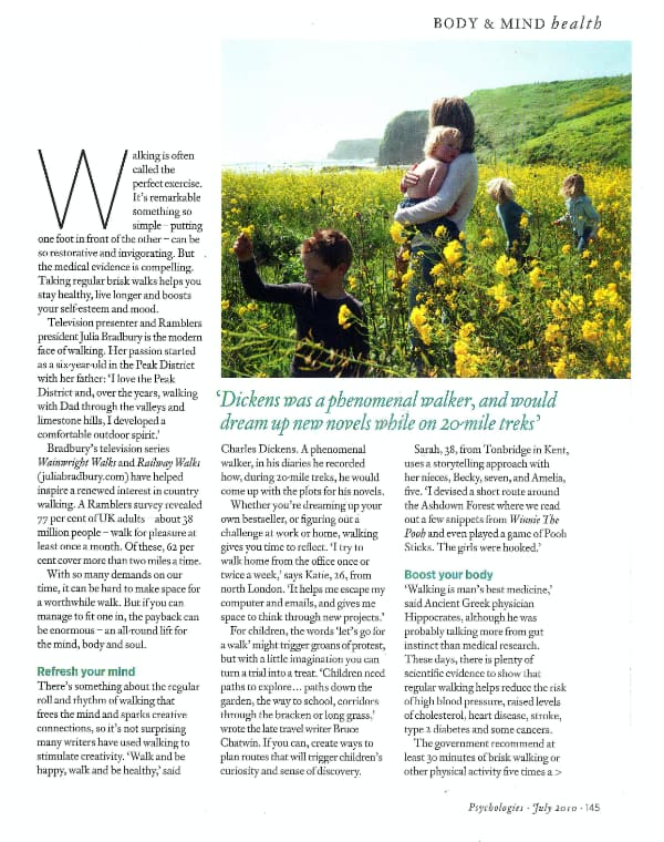 Body and Mind July 2010