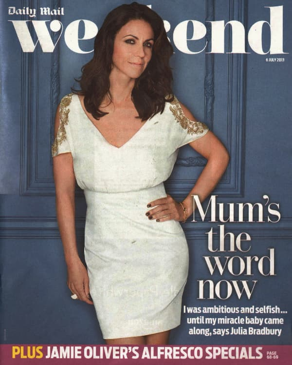 Daily Mail Weekend August 2013