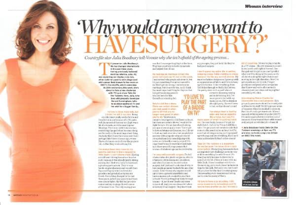Woman Magazine August 2013