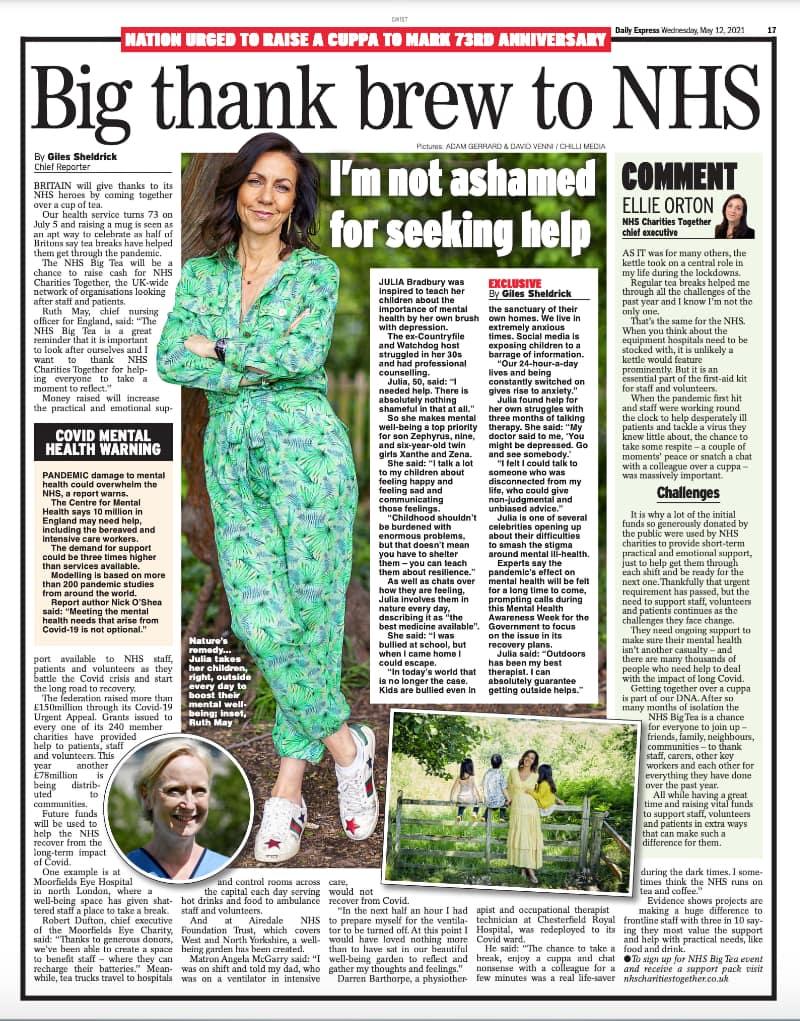Daily Express May 21